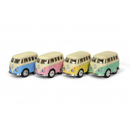 Lille Volkswagwn bus i pastel