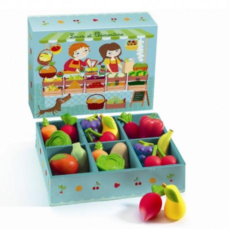 Djeco grønthandler - Louis & Clémentine