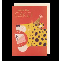 Eat all the cake! - Kort & kuvert - Lagom