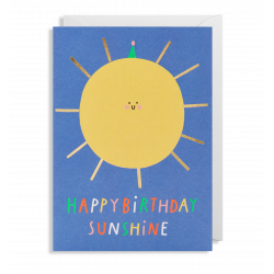 Happy Birthday Sunshine - Kort & kuvert - Lagom