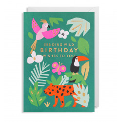 Birthday Wishes - Kort & kuvert - Lagom