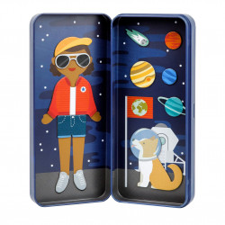 Space Bound - Magnetisk påklædningsdukke - Petit Collage