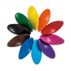 Left Right - Ergonomiske farver der kan viskes ud - Ooly