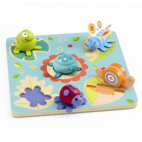 Lilo - Puslespil med figurbrikker - Djeco