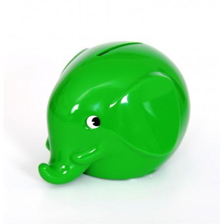 Grøn elefant sparebøsse - Mini - Norsu