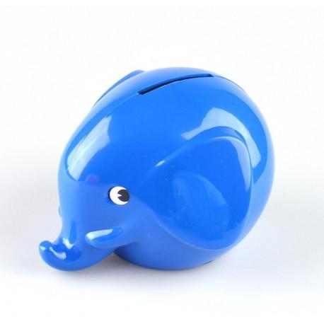 Norsu blå elefant sparebøsse - Mini