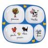 4-delt tallerken - Bondegårdsdyr - La Chaise Longue