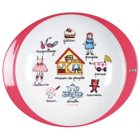 Flad tallerken - Pigelegetøj - La Chaise Longue