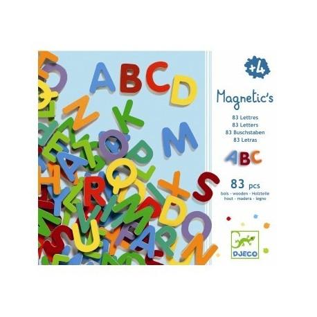 Blokbogstaver - Magneter - Djeco