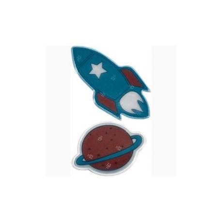 Rumfærge og planet - Refleks mærker - Die Spiegelburg